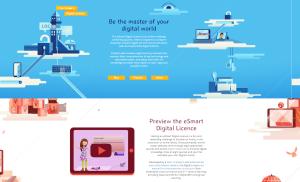 Digital Licence homepage